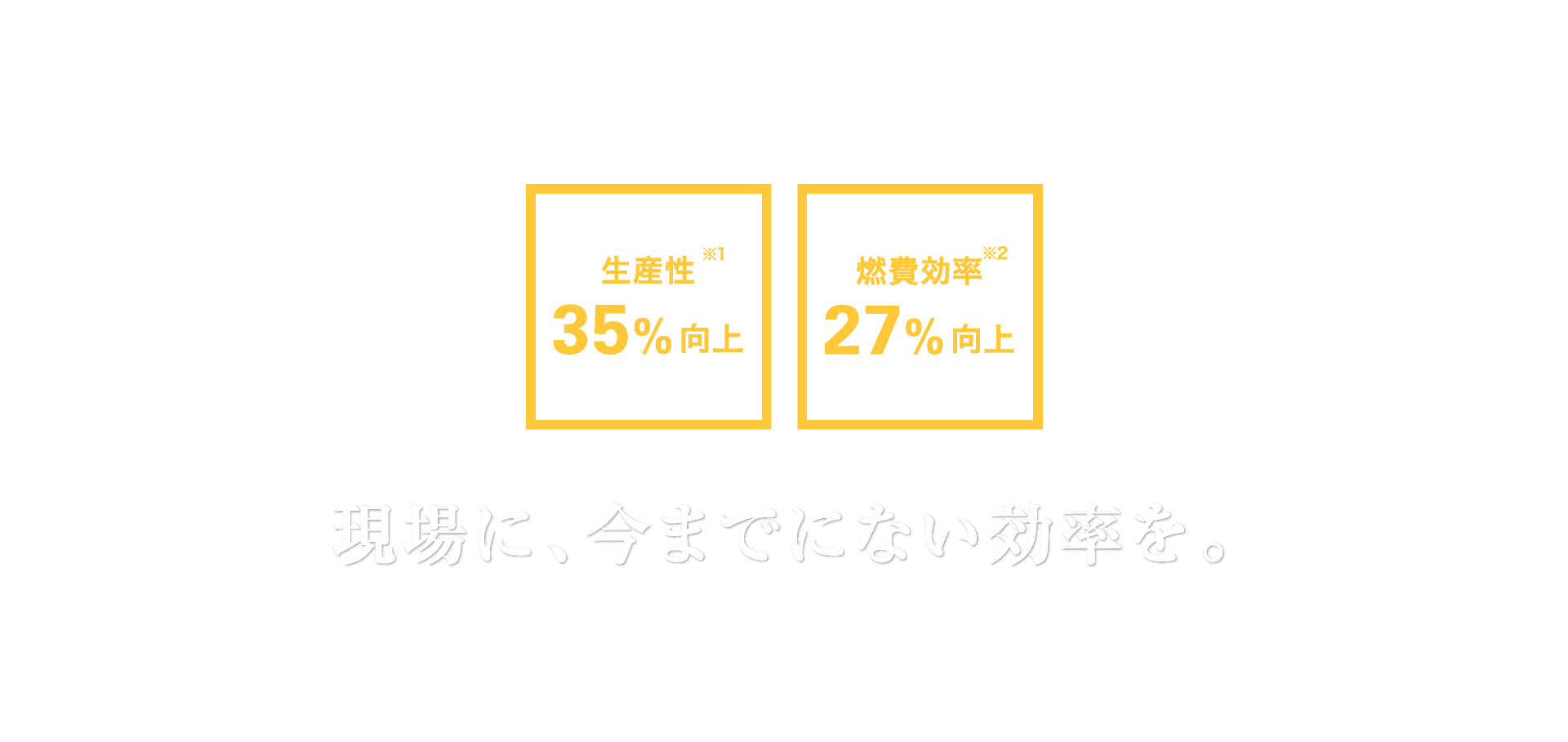CAT CONNECT SOLUTIONS|現場に、今までにない効率を。