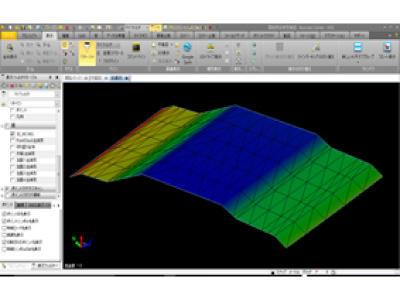 建設機械用3D設計データイメージ